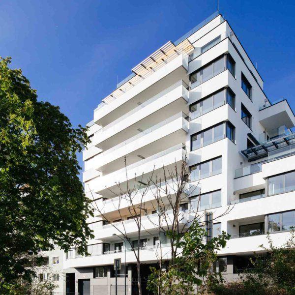 Neubau Floridsdorf Mühlschüttelgasse Alte Donau