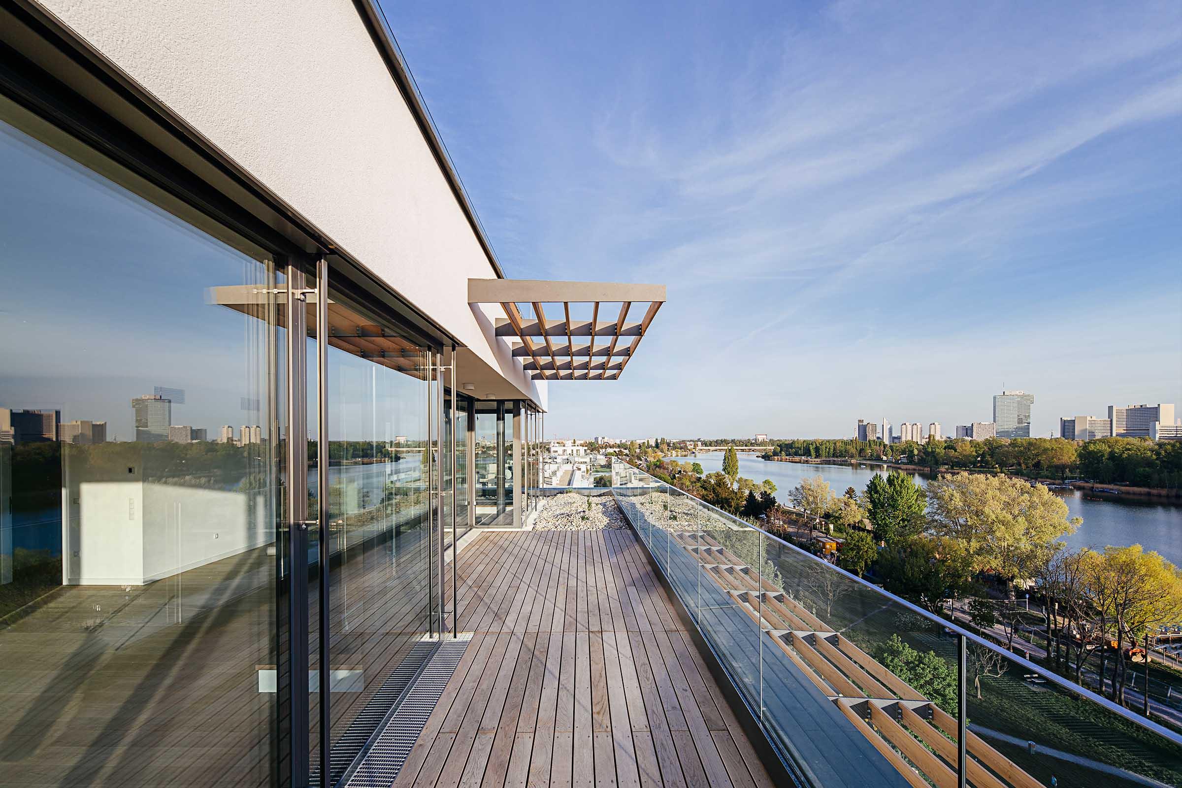 Dachgeschosswohnung Alte Donau